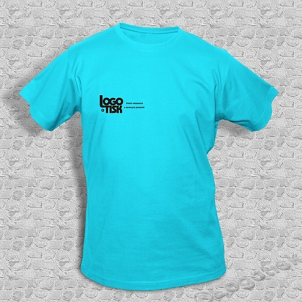 Funkční tričko s potiskem na přání - blue atol - ukázka 0d79f56c44