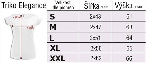 tabulka velikostí - Logotisk