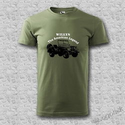 Tričko Jeep WILLYS